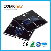 Solarparts 2pcs 85*85 0.5V/420mA mini thin  waterproof epoxy resin solar module cell panel system kit diy toys led light mini