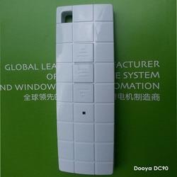 Controlador remoto de 1 canal dooya dc90 para o motor de dooya rf433, controle remoto rf 433 mhz, para dooya dt52e/kt82tn/kt320e, acessórios