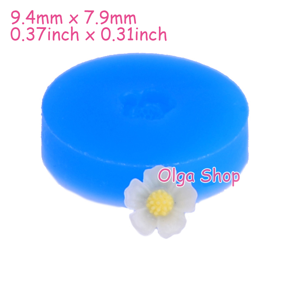 Bread Miniature Food Dollhouse Fondant Candy Chocolate Resin Cabochon Jewelry Charm Bakeware Gyl281 14.1mm Cross Bun Silicone Mold