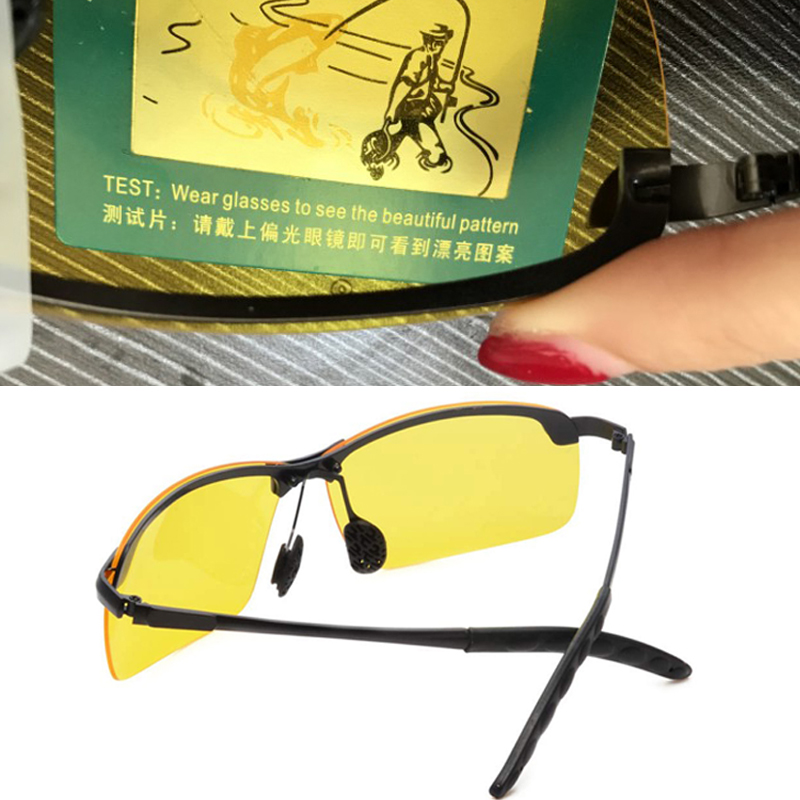 2019 New Arrival Men Glasses Car Drivers Night Vision Goggles Polarizer Sun Glasses Polarized Driving Sunglasses For Women