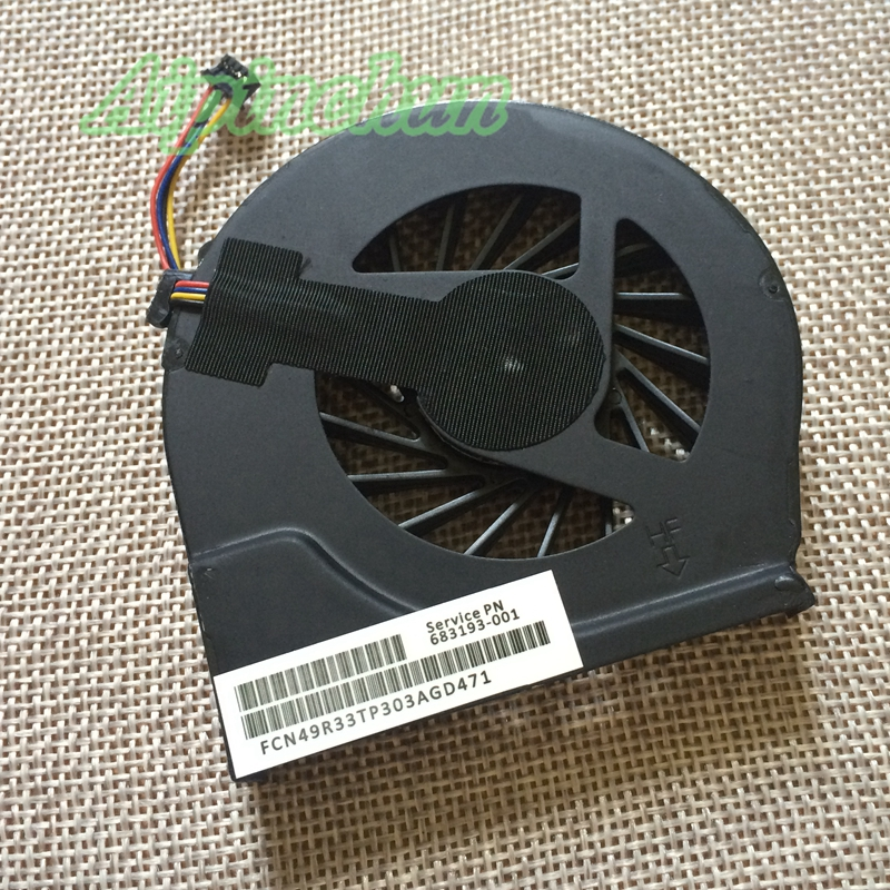 Aipinchun New Laptop Notebook CPU Cooling Cooler fan for HP Pavilion G4-2000 Q72C G6-2000 G7-2000 2118TU/ 683193-001 4Pins image