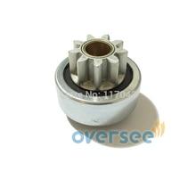 OVERSEE 6N7 81807 00 Start Motor Pinion Gear for Yamaha Outboard Engine 200HP Startor Motor New