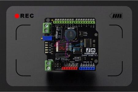 DFRobot 100% Оригинал Питания Щит/Модуль Расширения Доска/Адаптер Питания V1.1 15 Вт 3A/5 В Совместимость с/для Arduino
