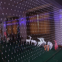 3x6m LED Net Lights 800 SMDs Christmas Natal New Year Garlands Waterproof LED String Indoor Outdoor