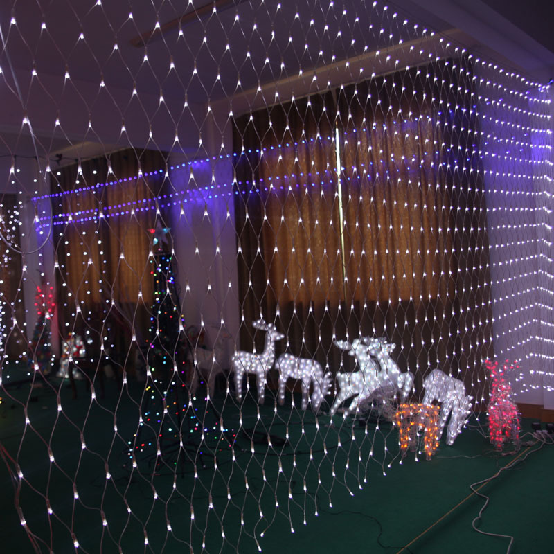 attractive outdoor christmas lights net part 4 3x6m led net lights 800 smds christmas
