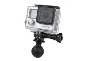 Штатив с шаровой головкой, крепление с вращением на 360 градусов для GOPRO 7 6 5 4 3 для спортивной камеры GitUp/ sj4000 sj5000 sj6000