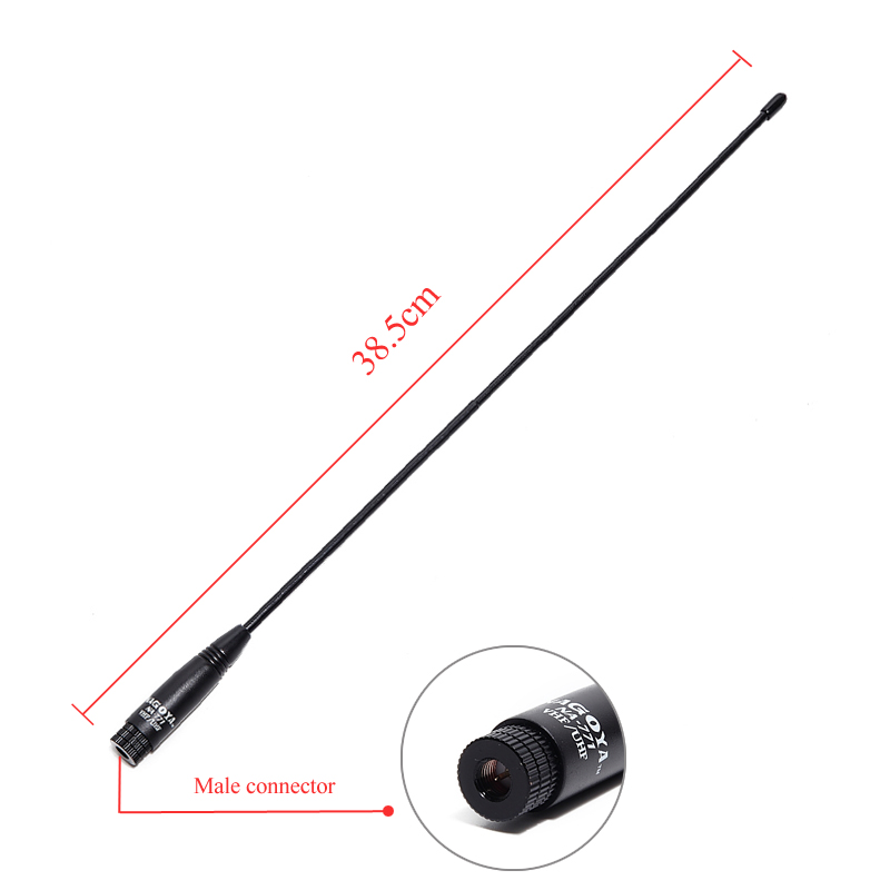 Nagoya NA-771 SMA-Male Dual Band VHF/UHF 144/430MHz Soft Antenna NA771 For Yaesu TYT TH-UV8000D WOUXUN Walkie Talkie NA 771