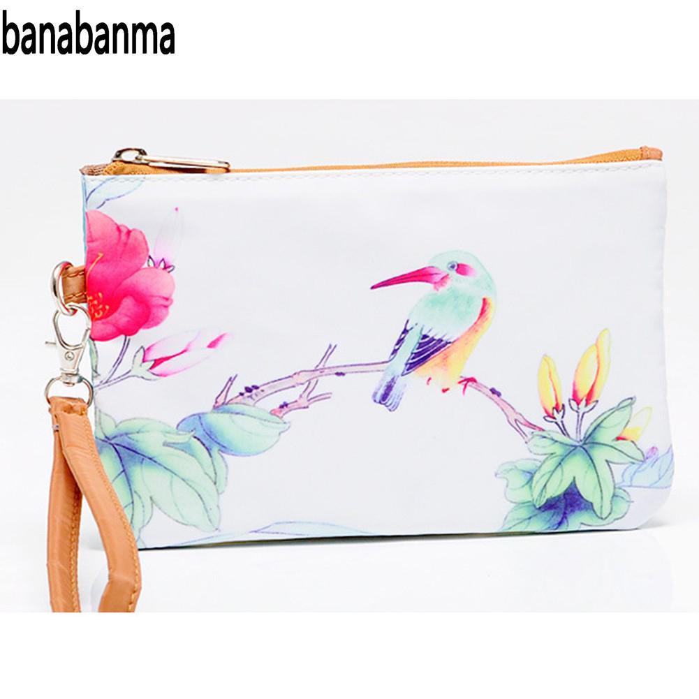 Banabanma Handbag Clutch-Bag Envelope-Package Elegant Fashion Zipper 3d-Printing Large-Capacity
