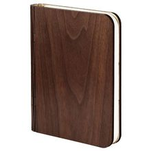 Brand New Wooden Book Light, 4 Colors Modes USB Rechargeable Creative Foldable LED Night Light Bedside Lamp Table Decorating Lam