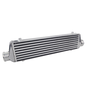 """Image 4 - PQY   Universal Turbo Intercooler Bar & Plate OD 2.5"""" 550*140*65mm Front Mount Intercooler PQY IN811 25"""