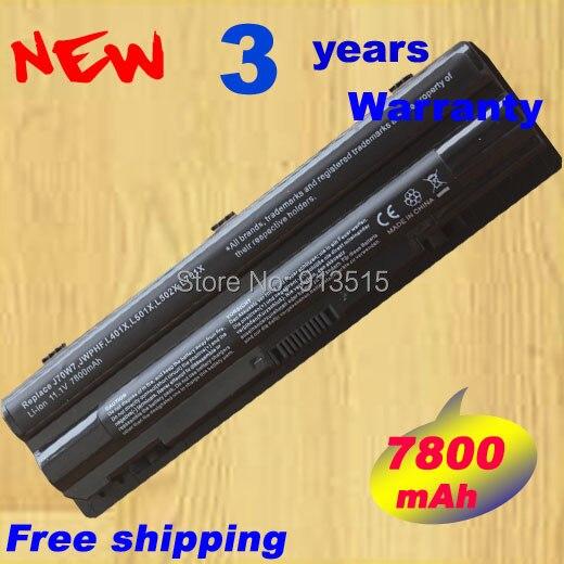 7800 mAh 9 cellules batterie d'ordinateur portable pour Dell XPS L401x L501x L502x L701x L702x L721x J70W7 JWPHF R795X WHXY3 R4CN5