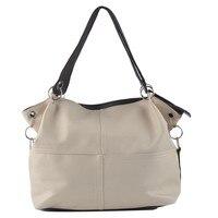 Ladies Messenger Bag Solid Imitation Leather Ladies Handbags Zippers Bolsa Feminina Leather Ladies Handbags