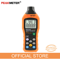 Official PEAKMETER PM6208B Non Contact Digital Tachometer 50~99999RPM max Speed Meter Rotation Tester