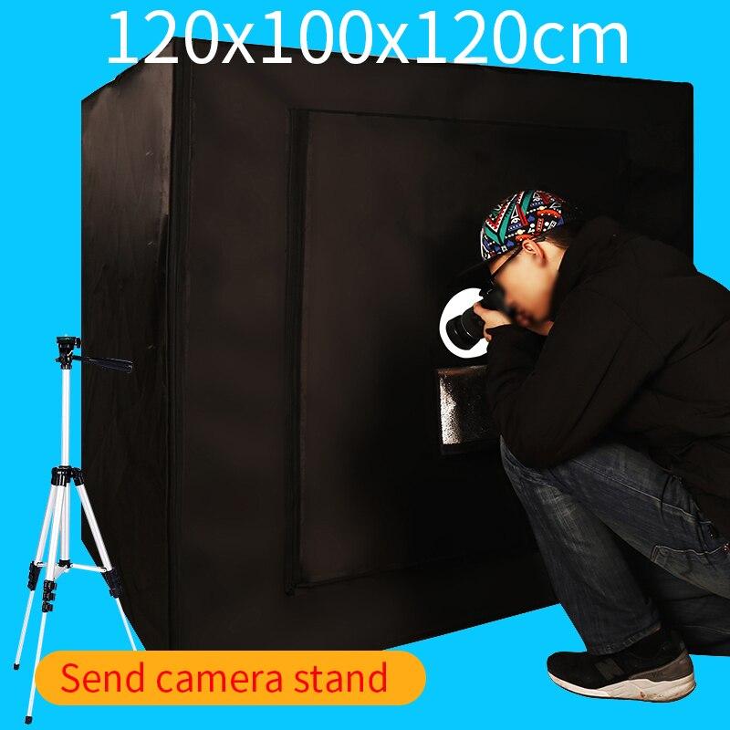 120*100*120CM Portable Photography Soft box Photo Studio Lightbox Light box Kit With Free Gift