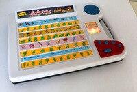 צעצוע ללמוד מילות החדש ערבית האלפבית ומספרים, לוח Ypad חינוכי למידה צעצוע לילדים אסלאמיים עם אור