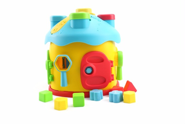 Early Educational Baby Teaching Building Blocks Storys Learning
