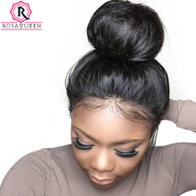 360 Lace Frontal Wig 150% Density Brazilian Body Wave Black Human Hair Wigs Pre Plucked With Baby Hair Rosa Queen Remy Full Ends