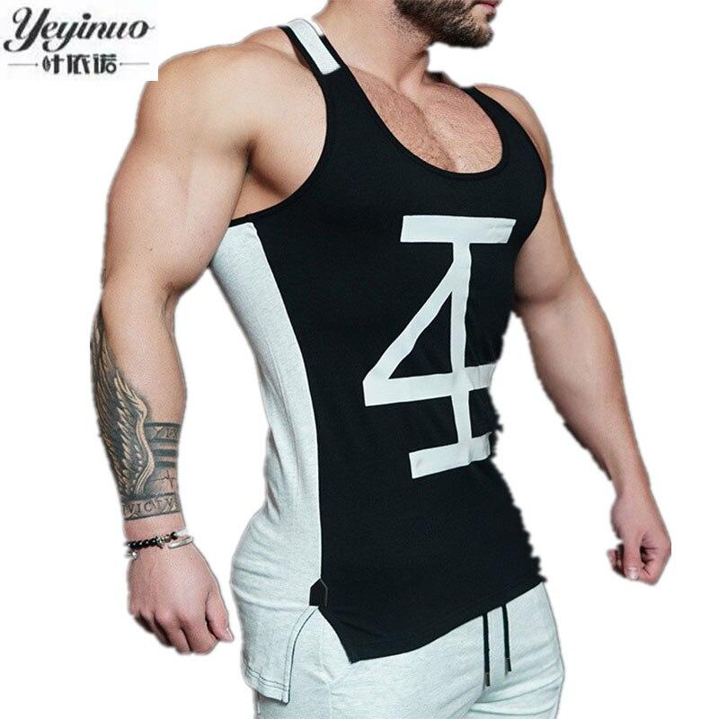 Fashion Men Cotton Tank Tops Sporting Military Singlets Style Vest Sexy font b Men s b
