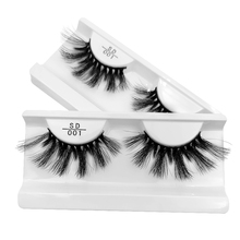 SHIDISHANGPIN thick false eyelashes 1 pair mink makeup eyelash 3d lashes extension
