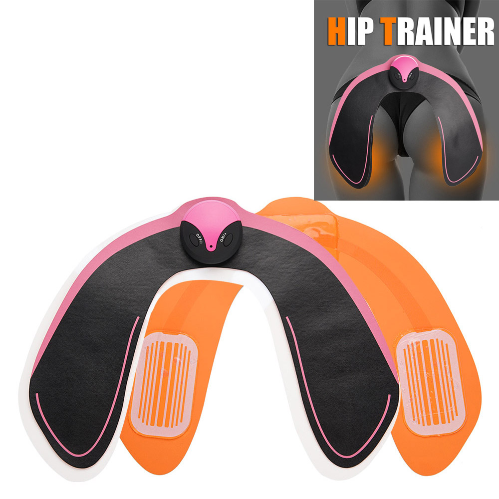 Electric EMS Intelligent Hip Trainer Buttock Lifting Massager Anti Cellulite Muscle Stimulator Gear Body Slim Shaper Pad Machine ems hips trainer