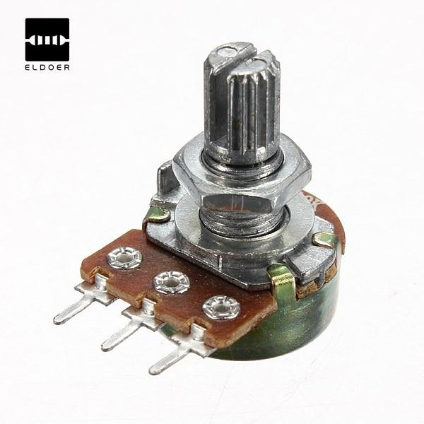 Hot 1/2/5/10/20/50/100/500K Ohm Potentiometers Single Linear wholesale New Electric Unit PotentiometersHot 1/2/5/10/20/50/100/500K Ohm Potentiometers Single Linear wholesale New Electric Unit Potentiometers