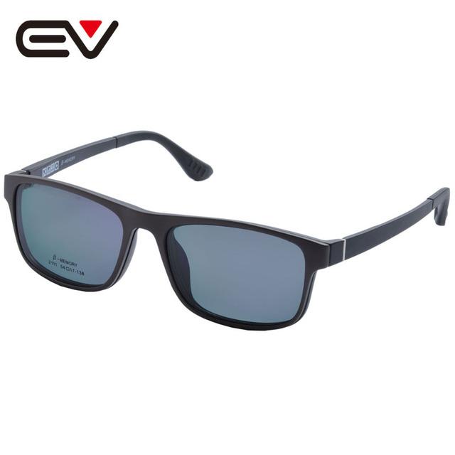 Gafas de moda Con Clip Magnético En gafas de Sol de Conducción Gafas de Sol Polarizadas Miopía Clip De Doble Propósito EV1403