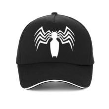 Spiderman Snapback Caps Cool Fashion Marvel Hip Hop Hat Adult 100% Cotton Baseball Cap For Men  women Spiderman gorras цена