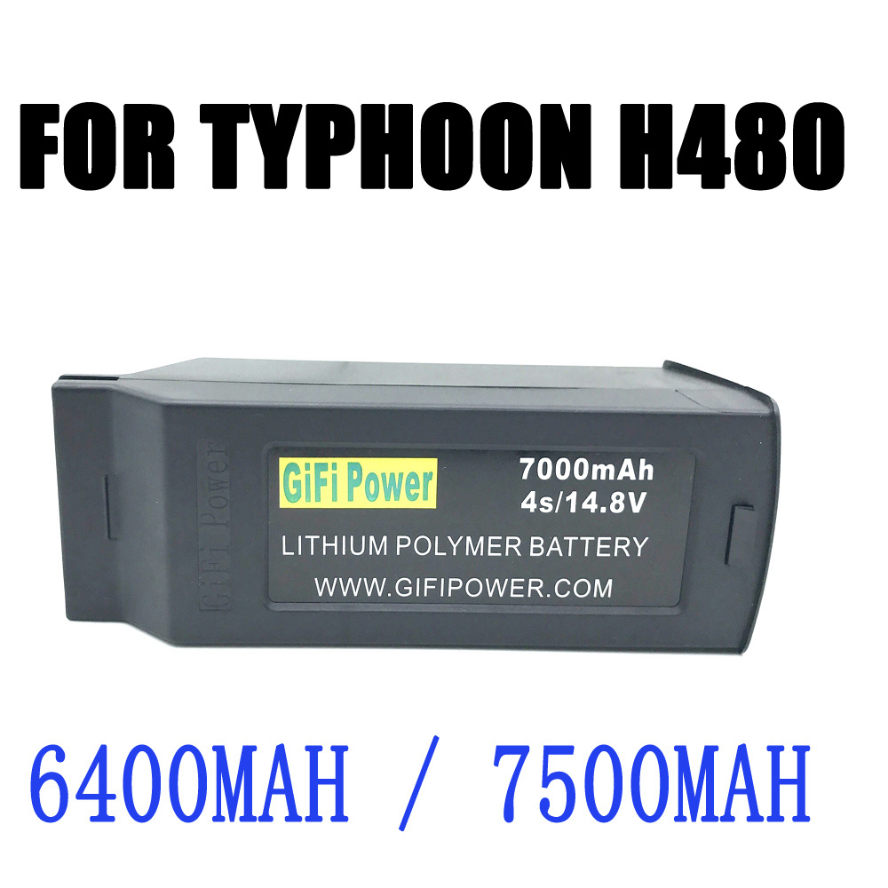 H480 4S 6400Mah 7000mah 8050mAh battery For Typhoon H RC drone spare Parts