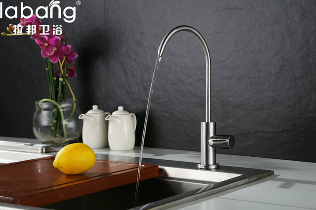 Labang Durable Simple Kitchen Faucet Basin Sink Tap Single Lever