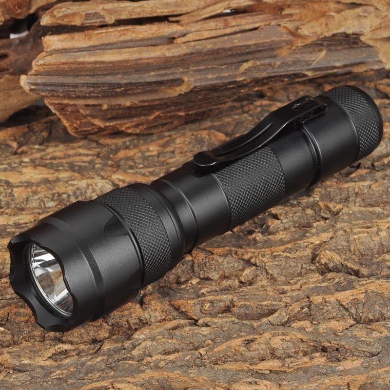 Banggood Aluminum alloy WF-502B 800Lum XM-L2 T6 1 Mode or 5 Mode White Light LED Torch 18650 WF502B 502B Flashlight
