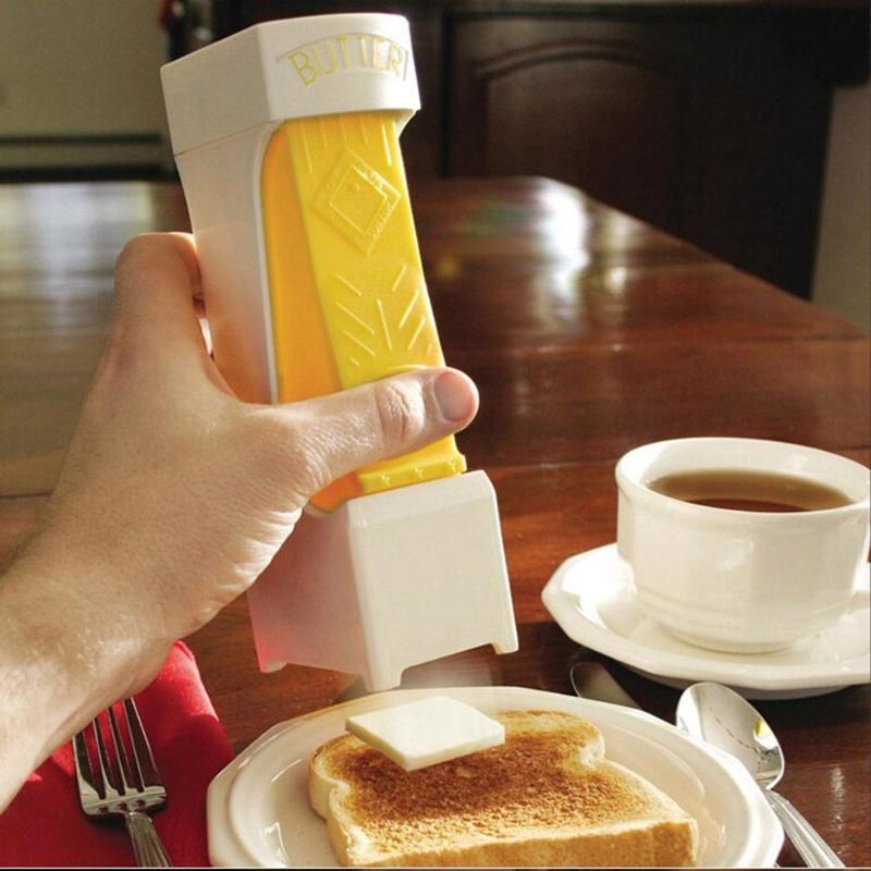 1pc Kitchen Home Plastic Butter Slicer Durable Cheese Mincer Grinder Butter Food Dispenser Kitchen Toaster Gadgets