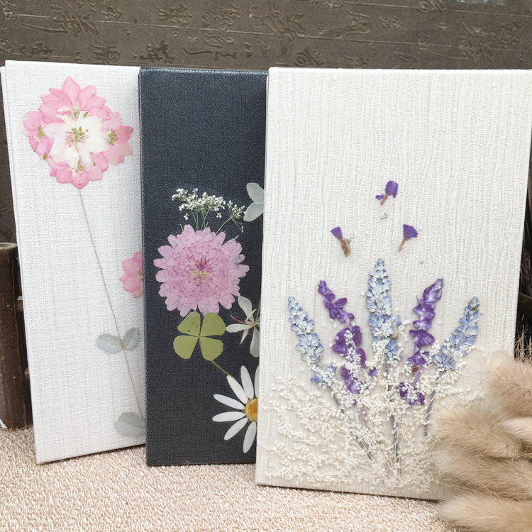 Image 2 - DIY Pure handwork Dried flowers seriesn Creative Notebook Planner Agenda Diary Notepad Filofax Journal Bujo 2019 Hand Book Gift-in Notebooks from Office & School Supplies