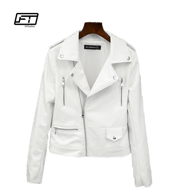 Haus & Garten Preiswert Kaufen Ftlzz Faux Leder Jacke Frauen Rosa Punk Mode Biker Mantel Schlank Pu Leder Jacke Weiche Motorrad Jacke