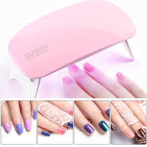 Image 3 - ROHWXY 6W Nail Dryer LED UV Lamp Micro USB Gel Varnish Curing Machine Nail Art Tools 6 LEDS Nail Lamps For Home