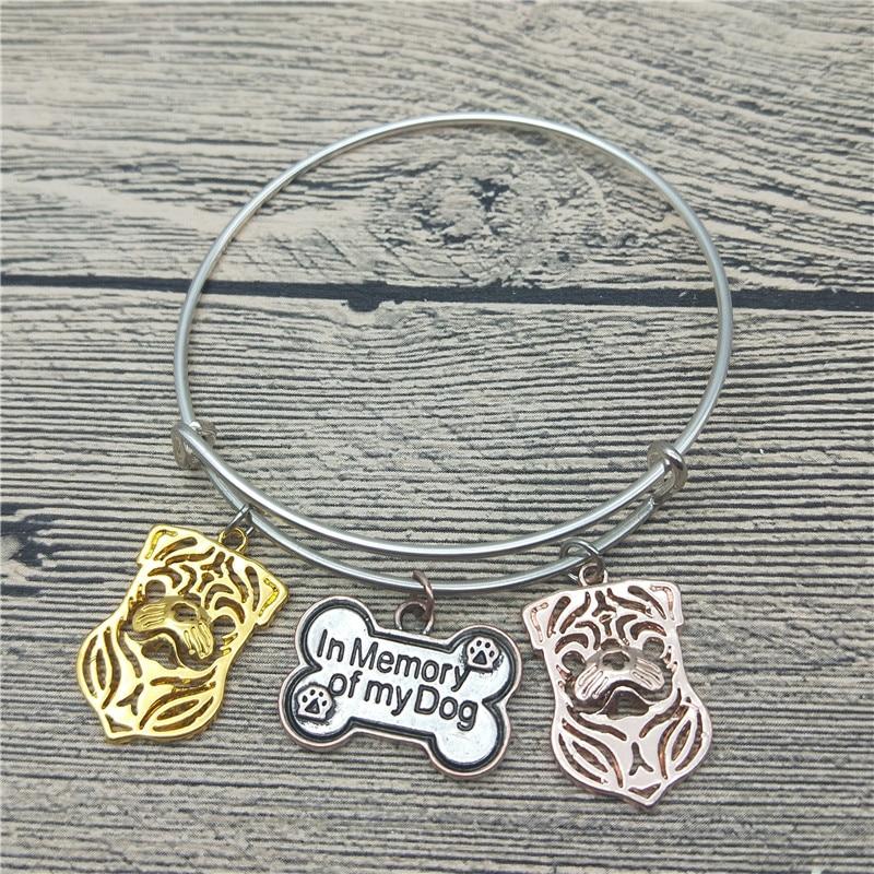 c67573e901fd Trendy New Pug Dog Bangles Cute Pug Dog Bangles Pulseras Moda Animal Pet  Jewellery