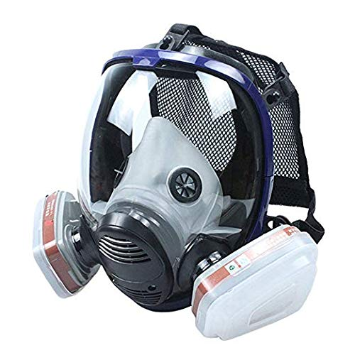 15-Pcs-Organic-Vapor-Full-Face-Respirator-Set-Safety-Gas-Mask-With-Visor-Protection-For-Paint