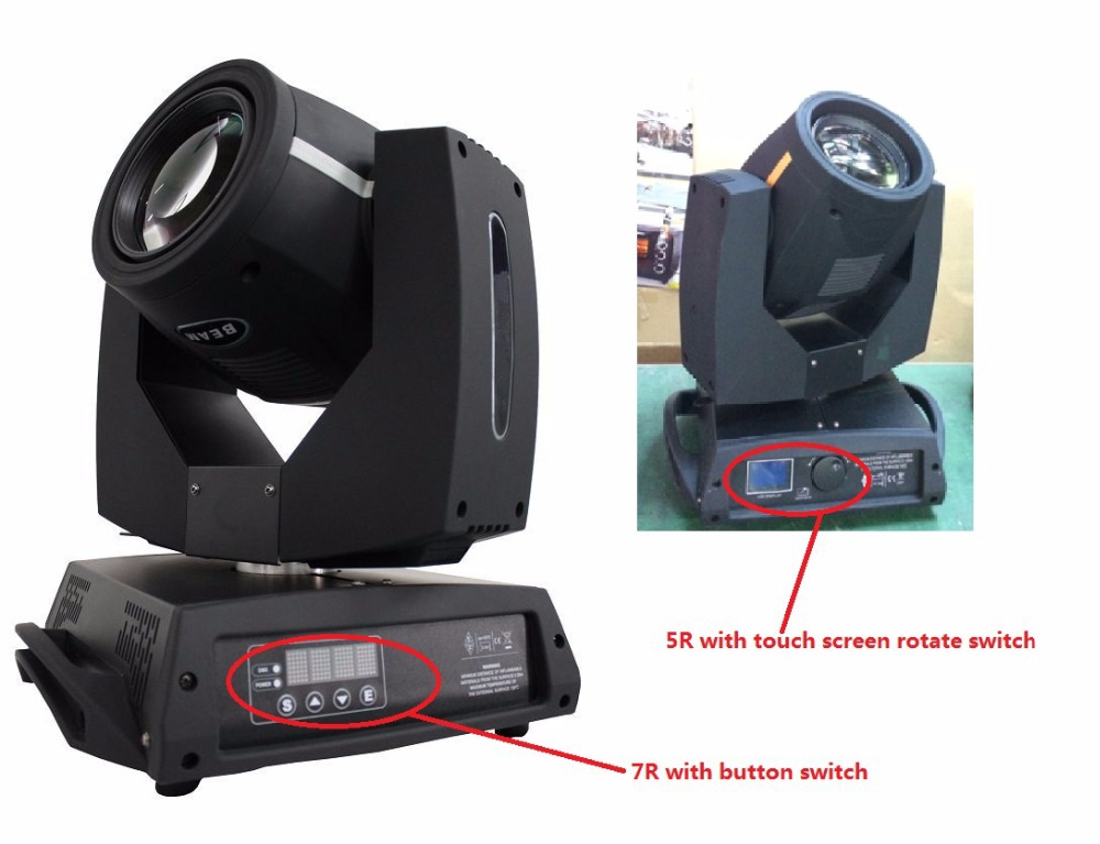 DHL Free shipping 8xlot 5R / 7R 230W Spot Beam Wash Moving Head Lights Stage lighting Effect DMX Professional Strobe Party Light