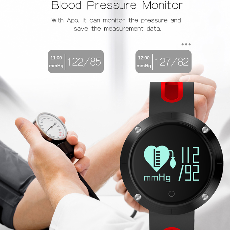 Bluetooth Sports Smart Watch for Women Men Heart Rate Monitor Blood Sleep Monitor Smart Wristband Bracelet for Andriod IOS sw102 0 68 bluetooth v4 0 smart watch wristband bracelet w sports sleep tracking deep pink page 6
