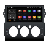 """12.5"""" Android 9 4+32G DSP Car Player GPS Navigation For Toyota FJ Cruiser 2008 2019 Head Unit Multimedia Player Tape Recorder"""