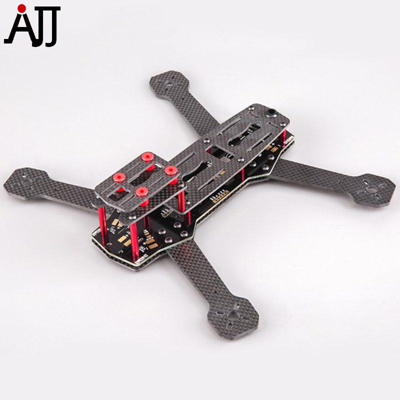 BeeRotor 250 Carbon Fiber Frame Kit with PDB Board for FPV Racing Camera Quadcopter Drone BR250 diy fpv mini drone qav210 zmr210 race quadcopter full carbon frame kit naze32 emax 2204ii kv2300 motor bl12a esc run with 4s