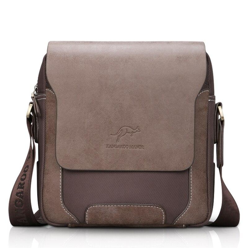 HOT Sale!Fashion Casual Top Leather Oxford Men's Crossbody Bag Brand Design Men Shoulder Bag Vintage Messenger Bag Business Bag