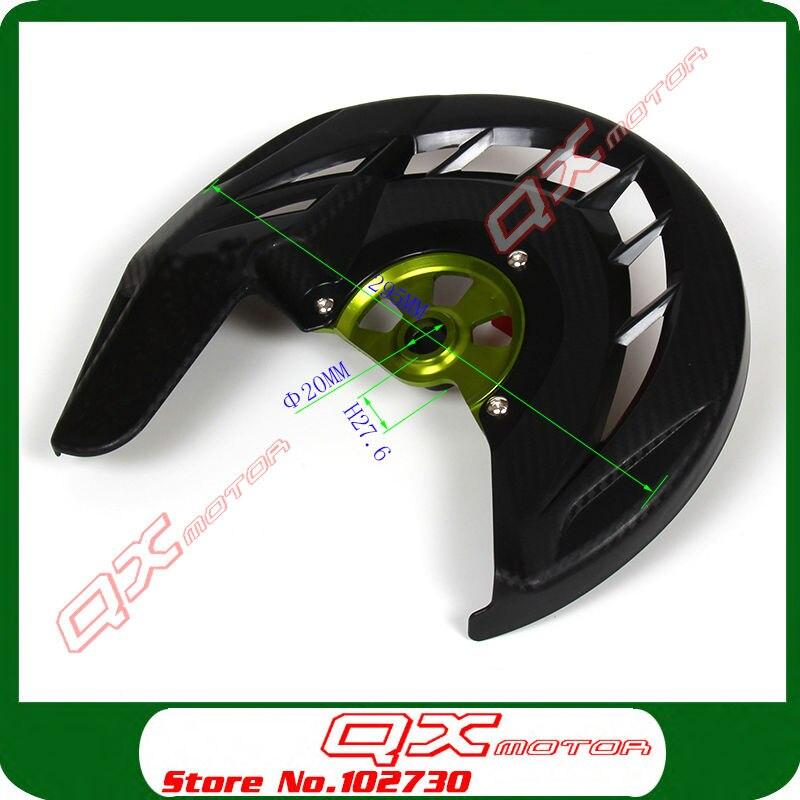 Cubierta protectora del disco del freno delantero para KX125 KX250 - Accesorios y repuestos para motocicletas