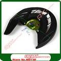 KX125 KX250 KXF250 KXF450 KLX450R Dirt Bike MX Motocross Off Road Motocicleta Modificar Peças disco de freio Dianteiro capa protetora