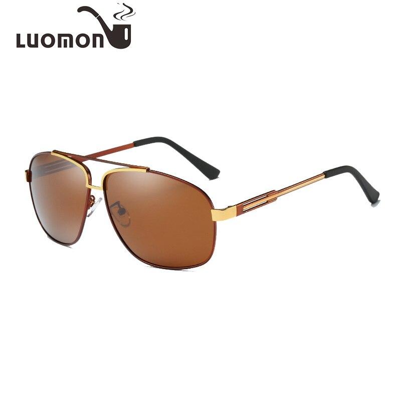2f92b7340b7 LUOMON 2018 New Polarized Men S Sun Glasses For Men Pilot Sunglasses Women  Driving Glasses Goggles Oculos De Sol Masculino