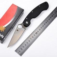Venta caliente mango CPM-S30V pala G10 58HRC regalo cuchillo plegable herramienta de supervivencia que acampa al aire libre cuchillos Tácticos