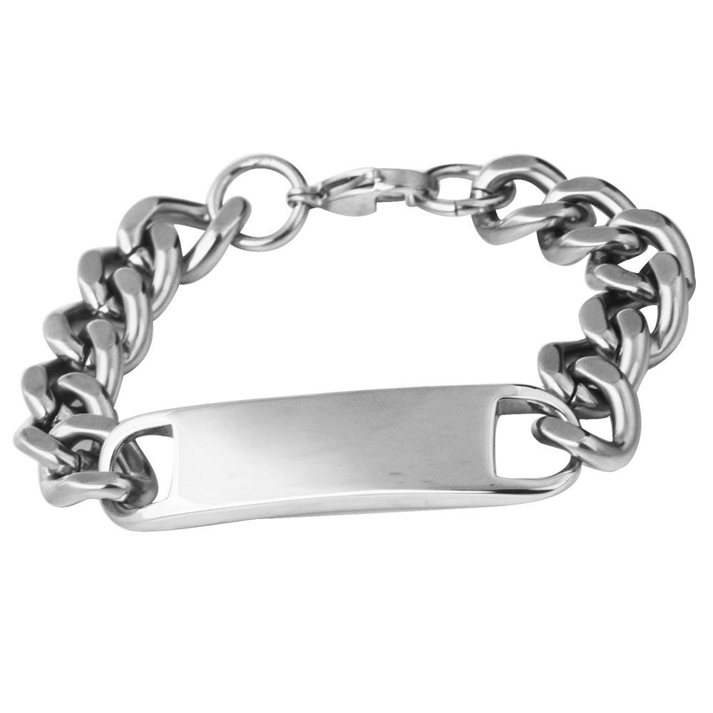 Customize Name Bracelet ,316 Stainless Steel Monogram Bracelet Bangles ,Men stainless steel...