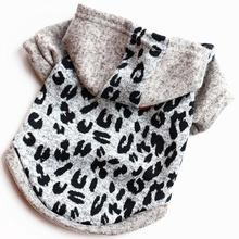 Small Dog Cotton Clothes Coat Hoodies Pet All Seasons Love Heart and Bear Casual