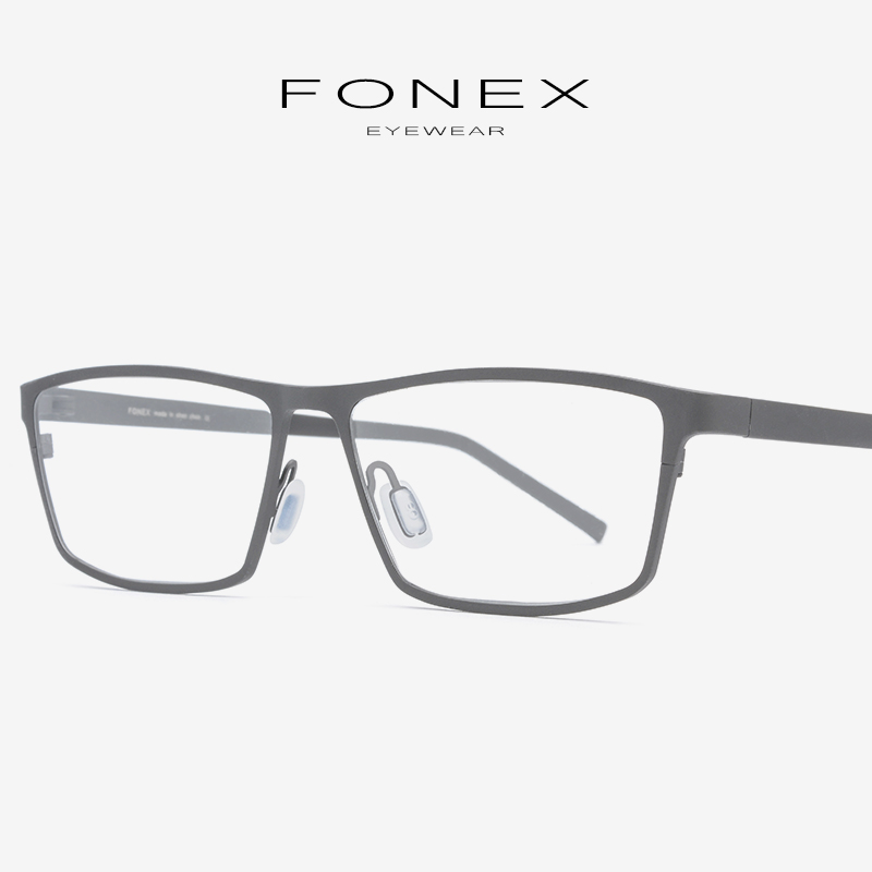 Korrektionsbrillen Brightzone Oval Brillen Männer Ultraleicht Myopie Rx-in Der Lage Brillen Tr90 Optische Rahmen Schraubenlose Brillen Oculos Herren-brillen