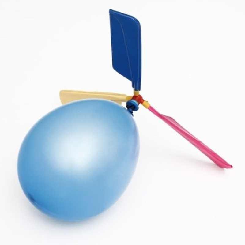 Venda quente Colorido Clássico Helicóptero Voando Balão Balão De Látex Balões Vôo Portátil Kid's Brinquedo Fontes do Partido Do Baile de Finalistas Novo