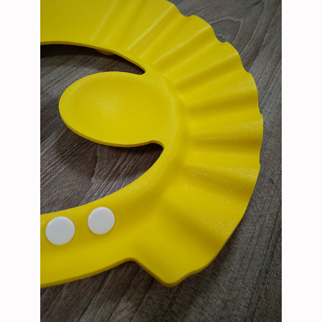 Children Waterproof Cap Safe Baby Shower Cap Kids Bath Visor Hat Adjustable Baby Shower Cap Protect Eyes Hair